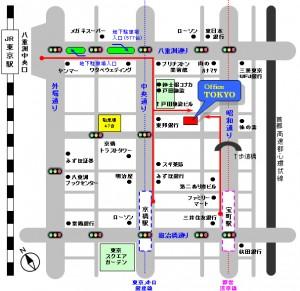 オフィス東京の地図